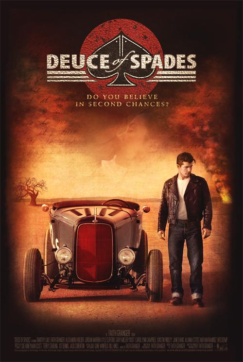 Poster Deuce op Spades